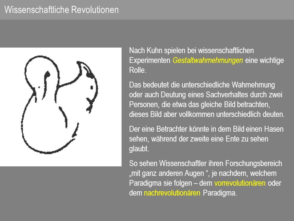Wissenschaftliche Revolutionen