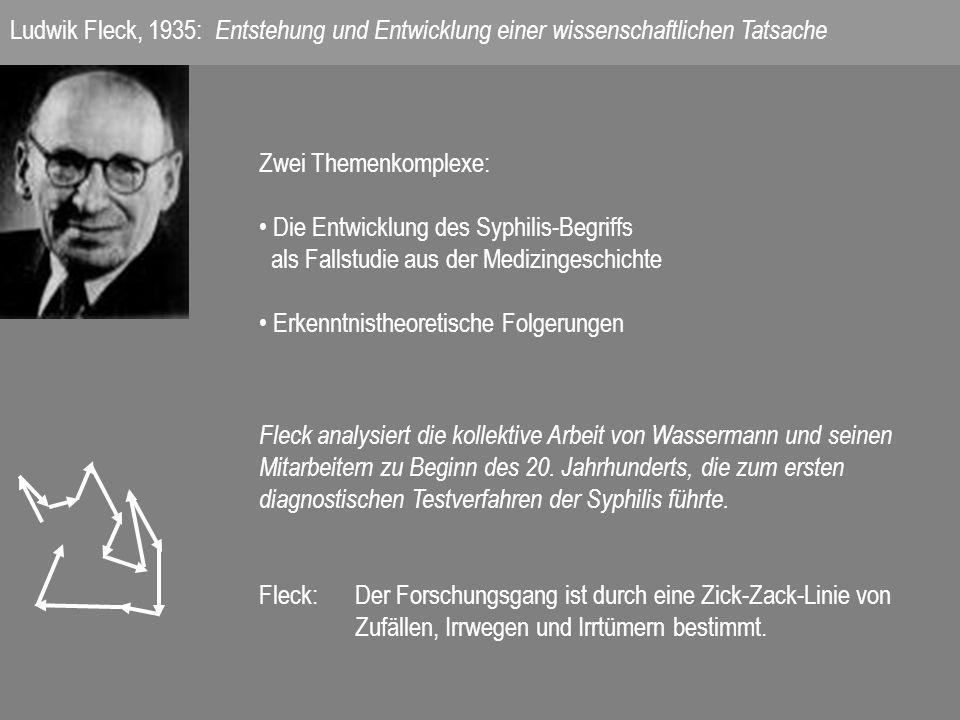 Ludwik Fleck, 1935: Entstehung und Entwicklung einer wissenschaftlichen Tatsache