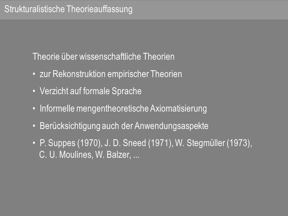 Strukturalistische Theorieauffassung