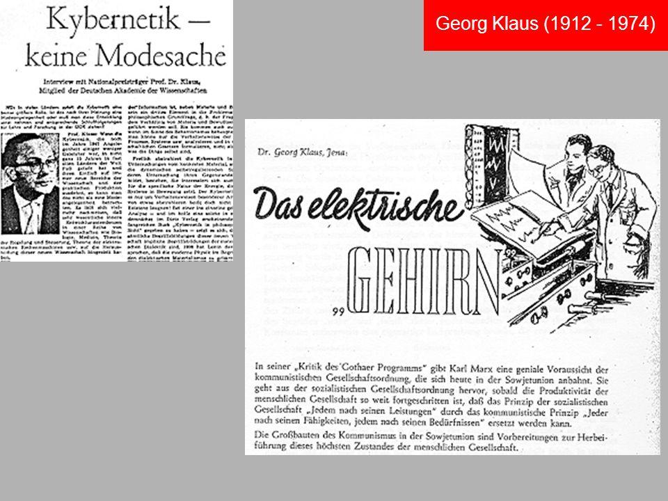 Georg Klaus (1912 - 1974)