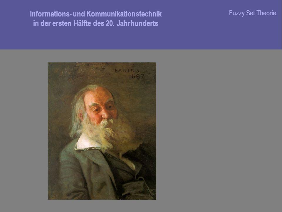 Informations- und Kommunikationstechnik in der ersten Hälfte des 20