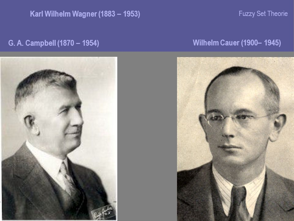 Karl Wilhelm Wagner (1883 – 1953)