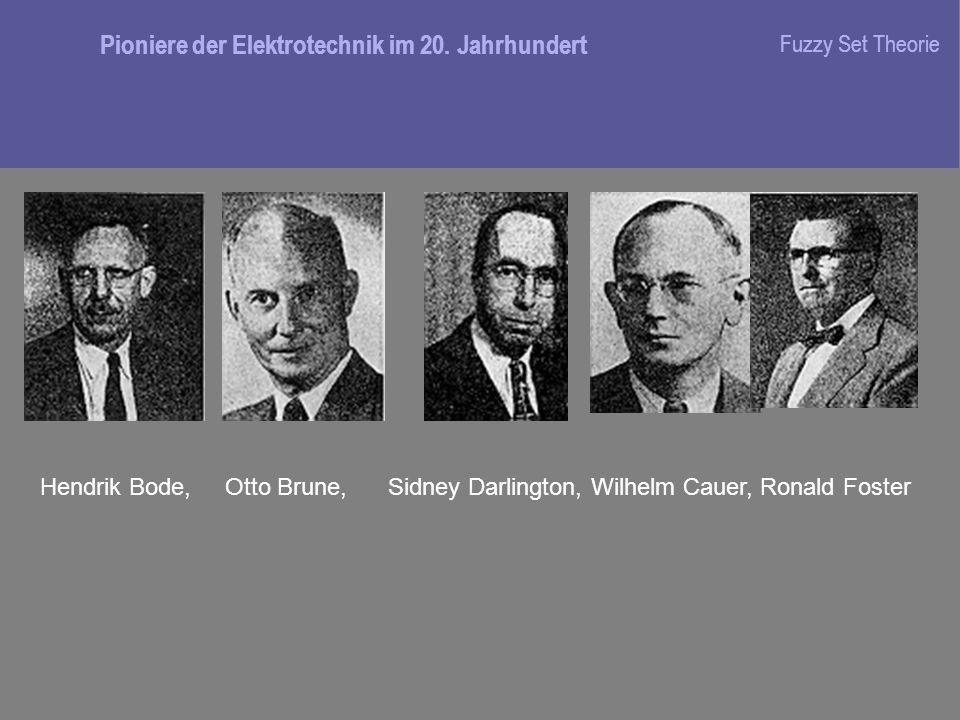 Pioniere der Elektrotechnik im 20. Jahrhundert