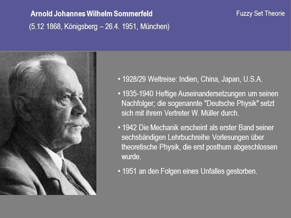 Arnold Johannes Wilhelm Sommerfeld