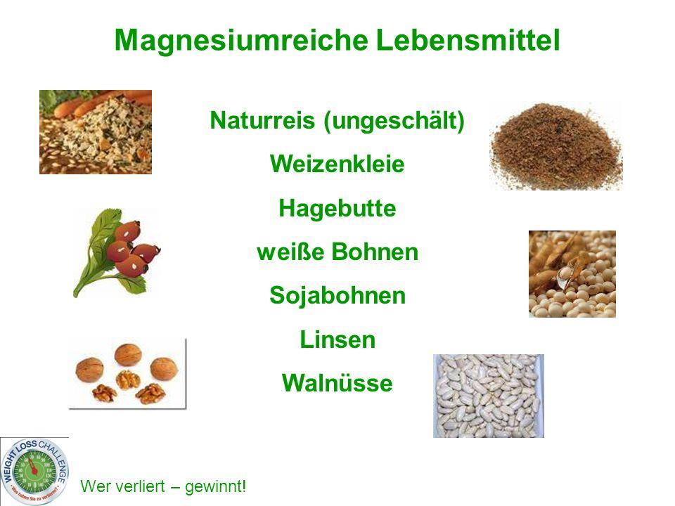 Magnesiumreiche Lebensmittel Naturreis (ungeschält)