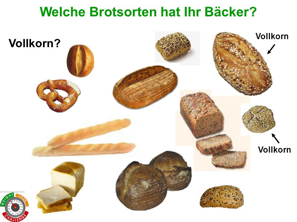 Welche Brotsorten hat Ihr Bäcker