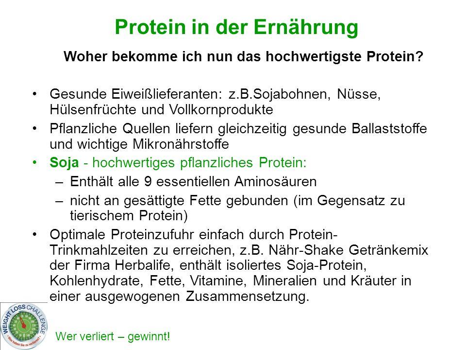 Protein in der Ernährung