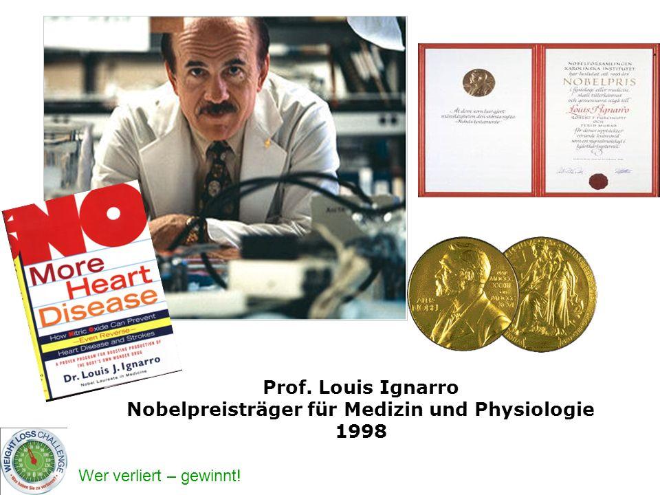 Nobelpreisträger für Medizin und Physiologie 1998