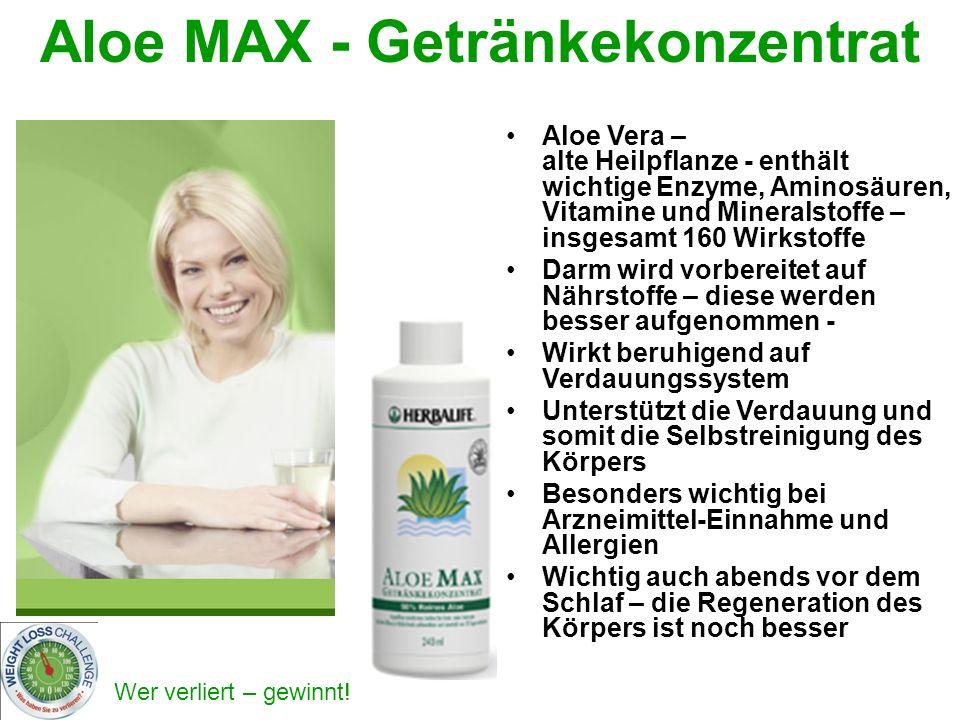 Aloe MAX - Getränkekonzentrat