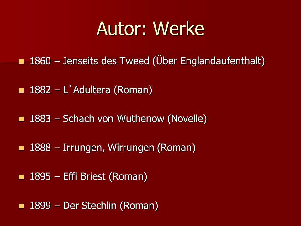Autor: Werke 1860 – Jenseits des Tweed (Über Englandaufenthalt)