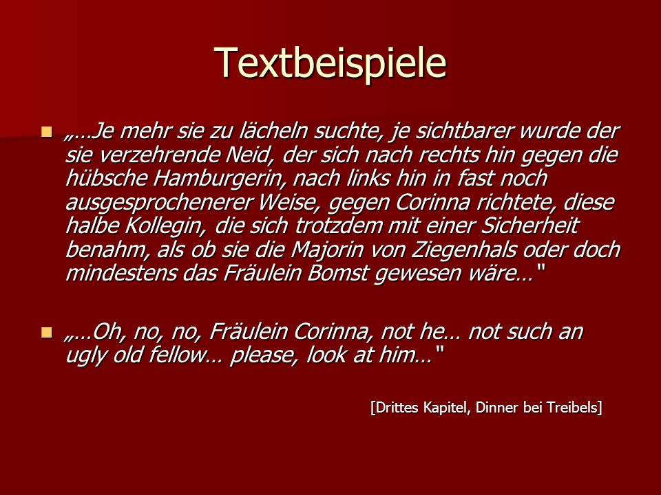 Textbeispiele