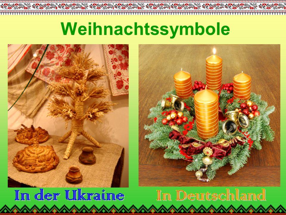 Weihnachtssymbole In der Ukraine In Deutschland