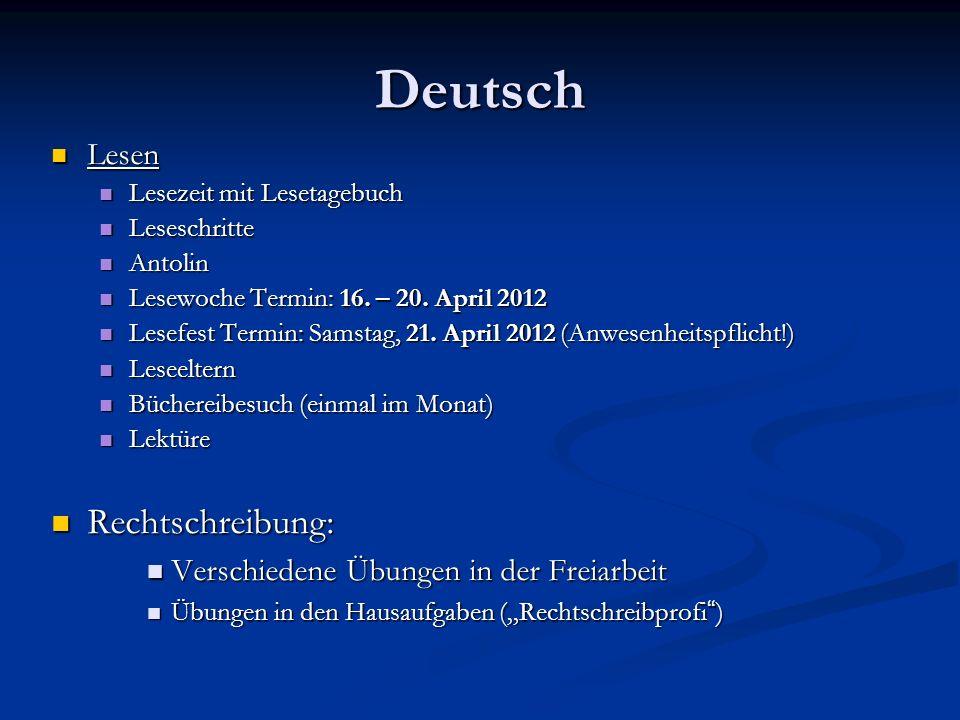 Deutsch Rechtschreibung: Lesen Verschiedene Übungen in der Freiarbeit