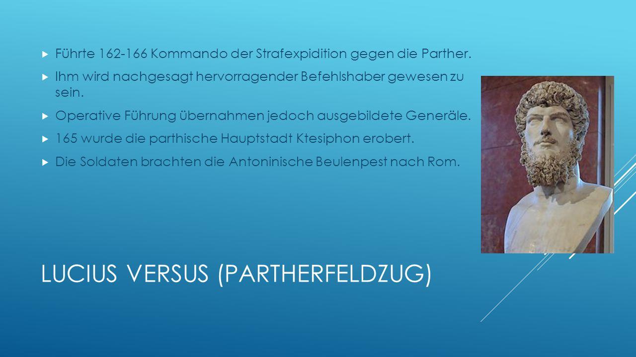Lucius Versus (Partherfeldzug)