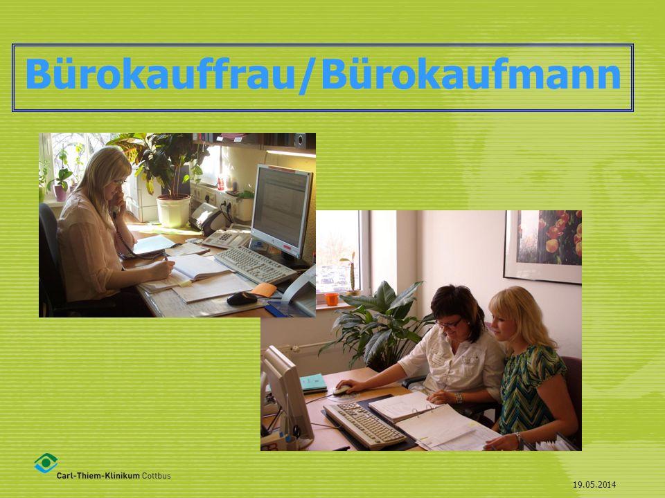 Bürokauffrau/Bürokaufmann