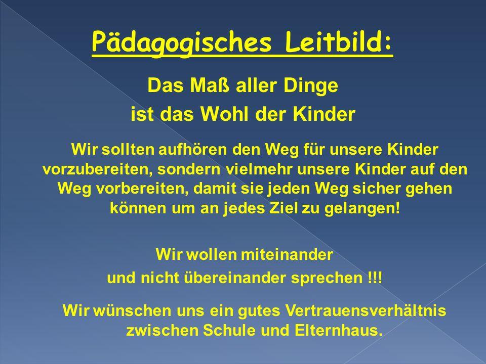 Pädagogisches Leitbild:
