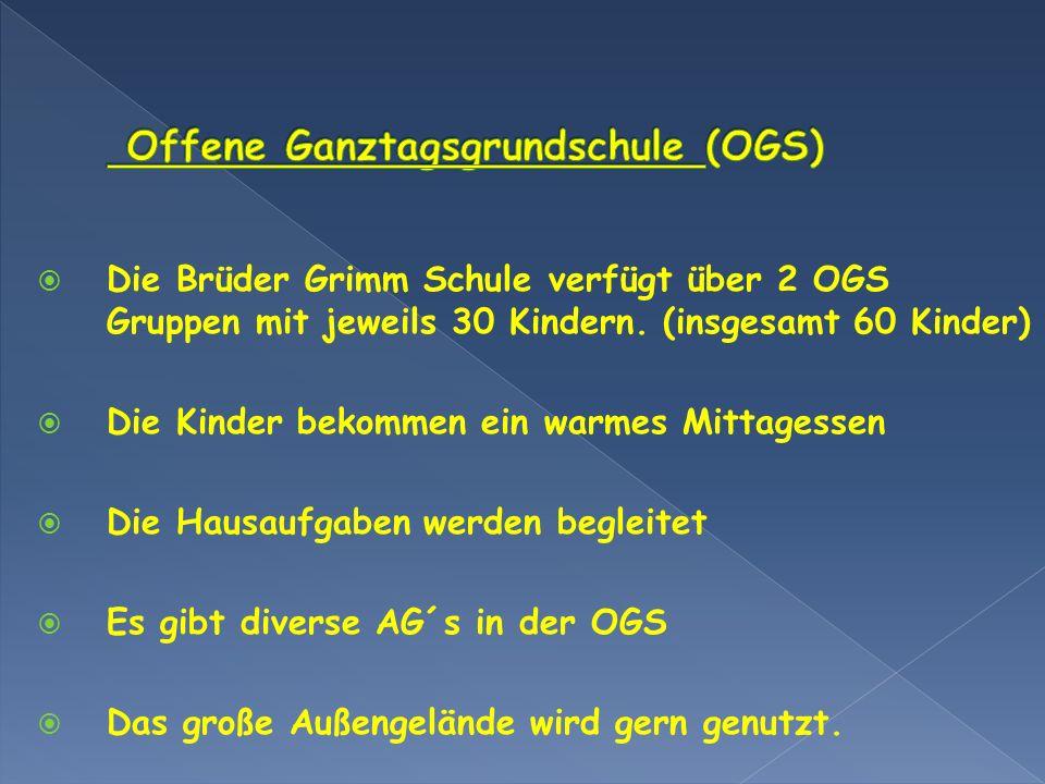 Offene Ganztagsgrundschule (OGS)