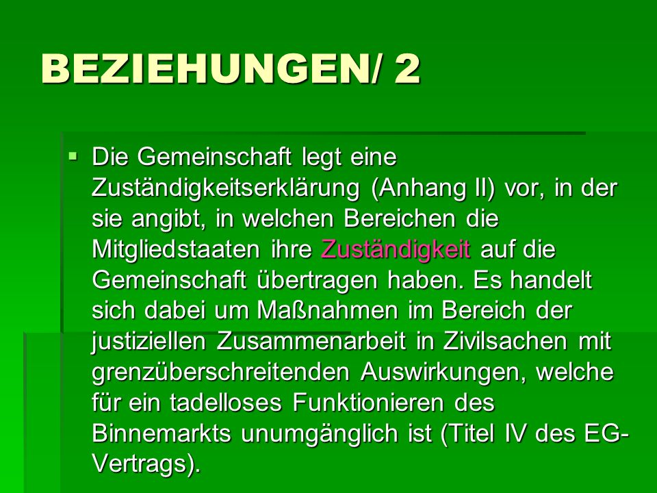 BEZIEHUNGEN/ 2