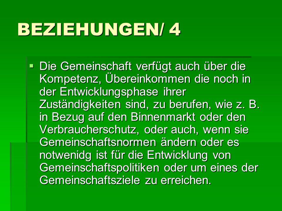 BEZIEHUNGEN/ 4