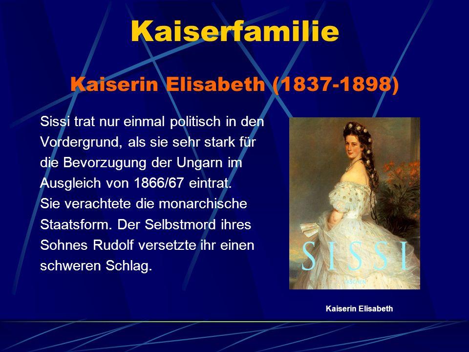 Kaiserin Elisabeth (1837-1898)