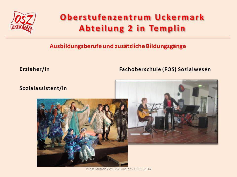 Oberstufenzentrum Uckermark Abteilung 2 in Templin
