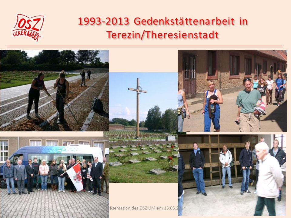 1993-2013 Gedenkstättenarbeit in Terezin/Theresienstadt