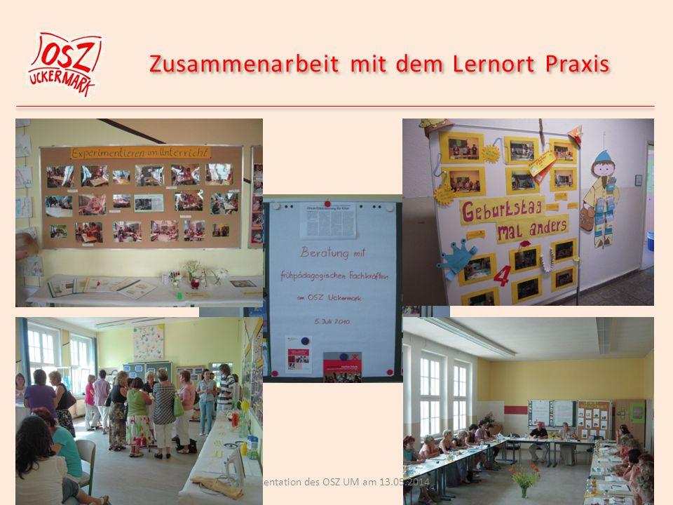 Zusammenarbeit mit dem Lernort Praxis