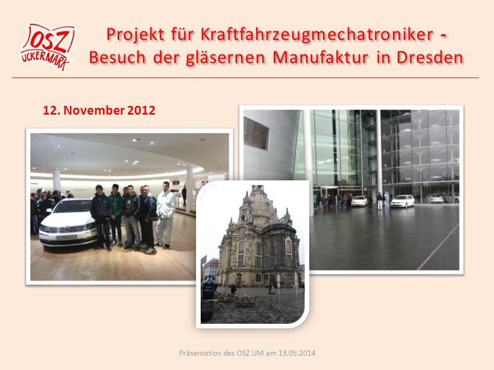 Projekt für Kraftfahrzeugmechatroniker -