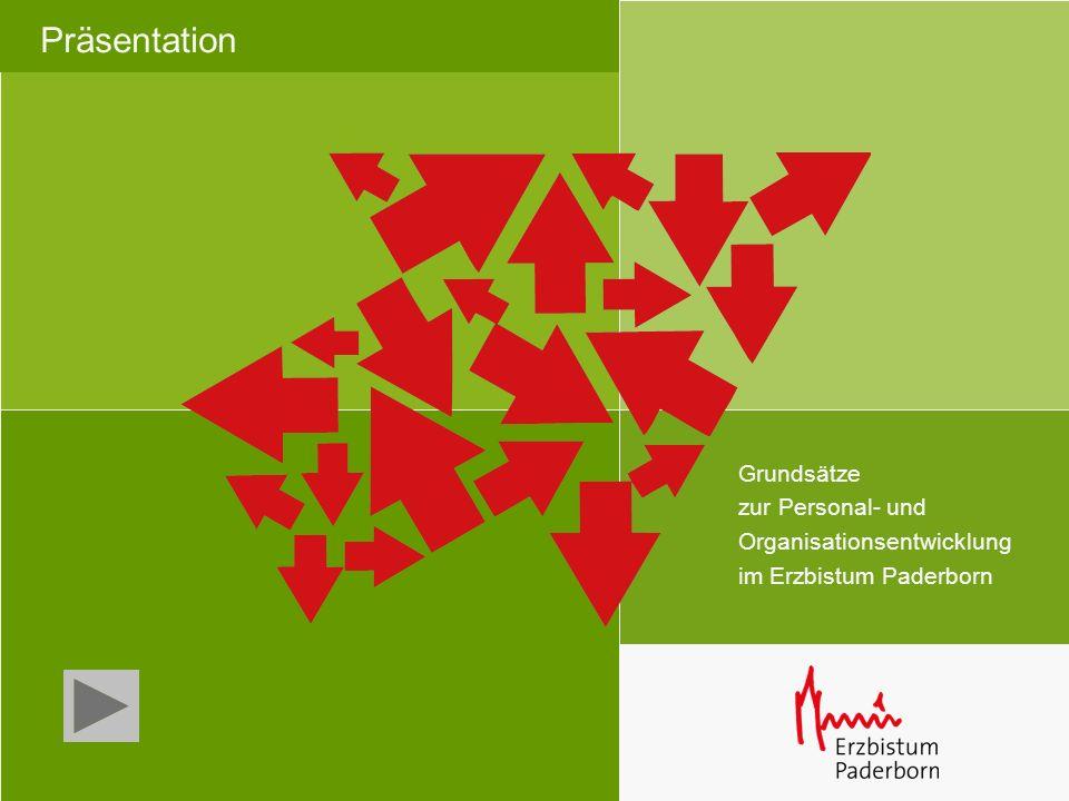Präsentation Grundsätze zur Personal- und Organisationsentwicklung