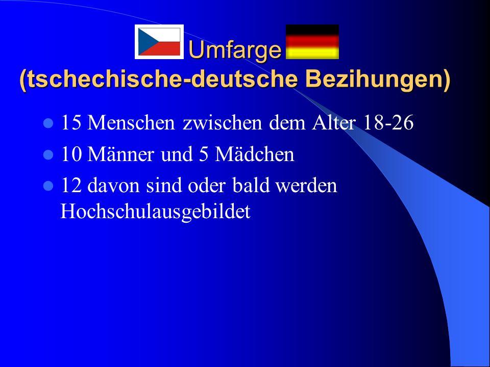 Umfarge (tschechische-deutsche Bezihungen)