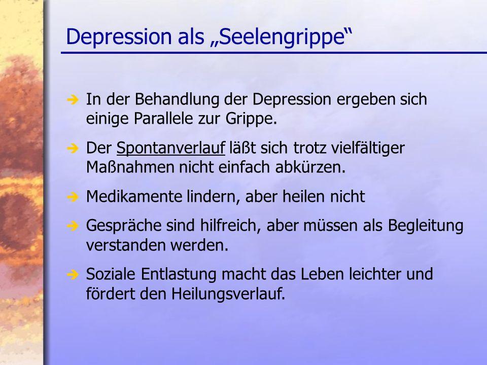 "Depression als ""Seelengrippe"