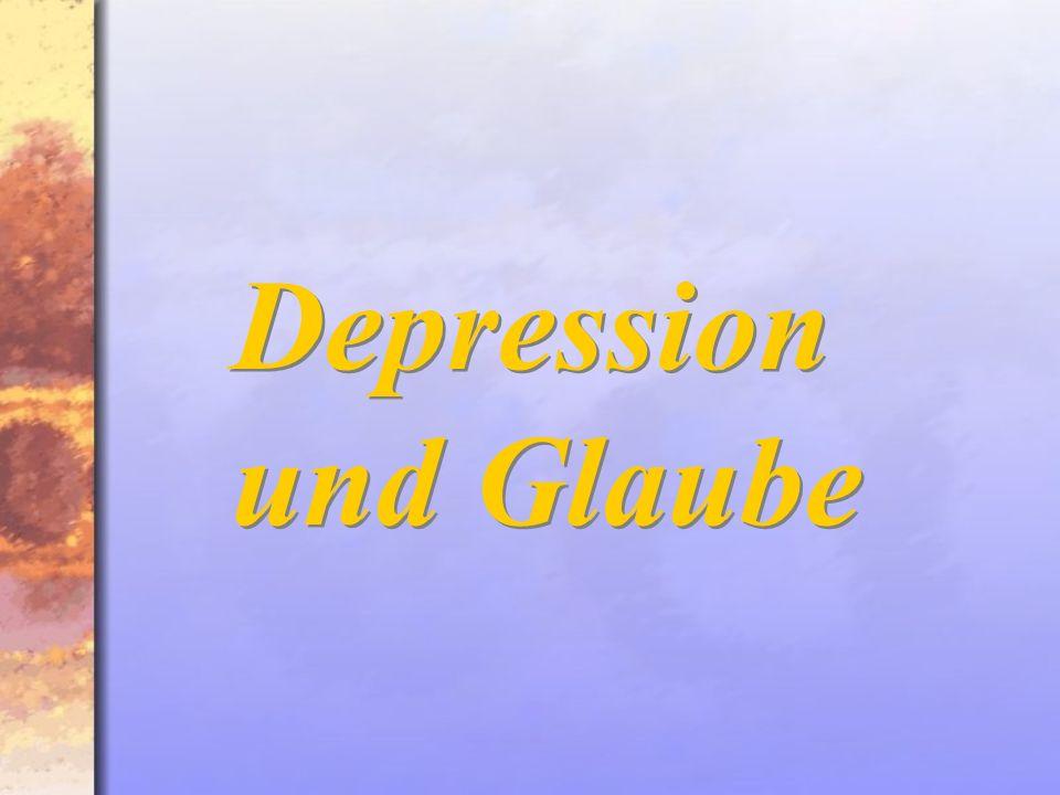 Depression und Glaube