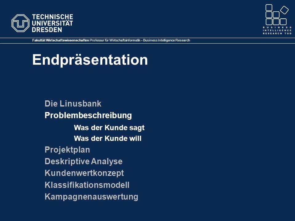 Klassifikationsmodell Kampagnenauswertung