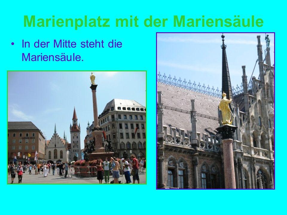 Marienplatz mit der Mariensäule