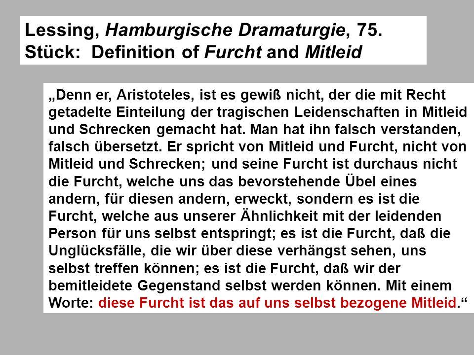 Lessing, Hamburgische Dramaturgie, 75