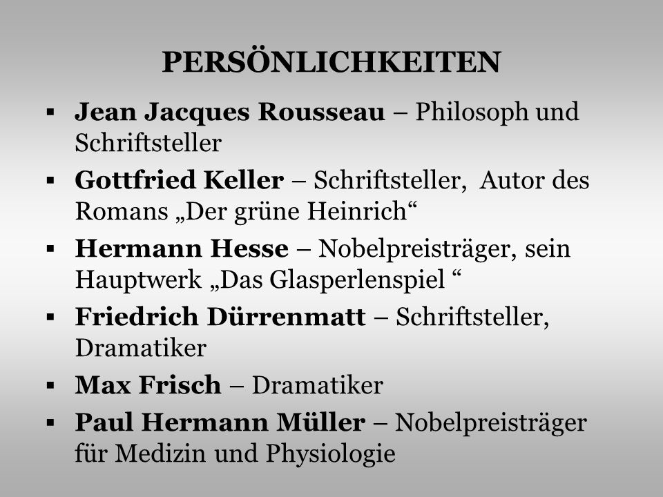 PERSÖNLICHKEITEN Jean Jacques Rousseau – Philosoph und Schriftsteller