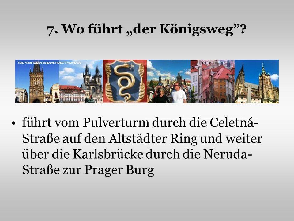 """7. Wo führt """"der Königsweg"""