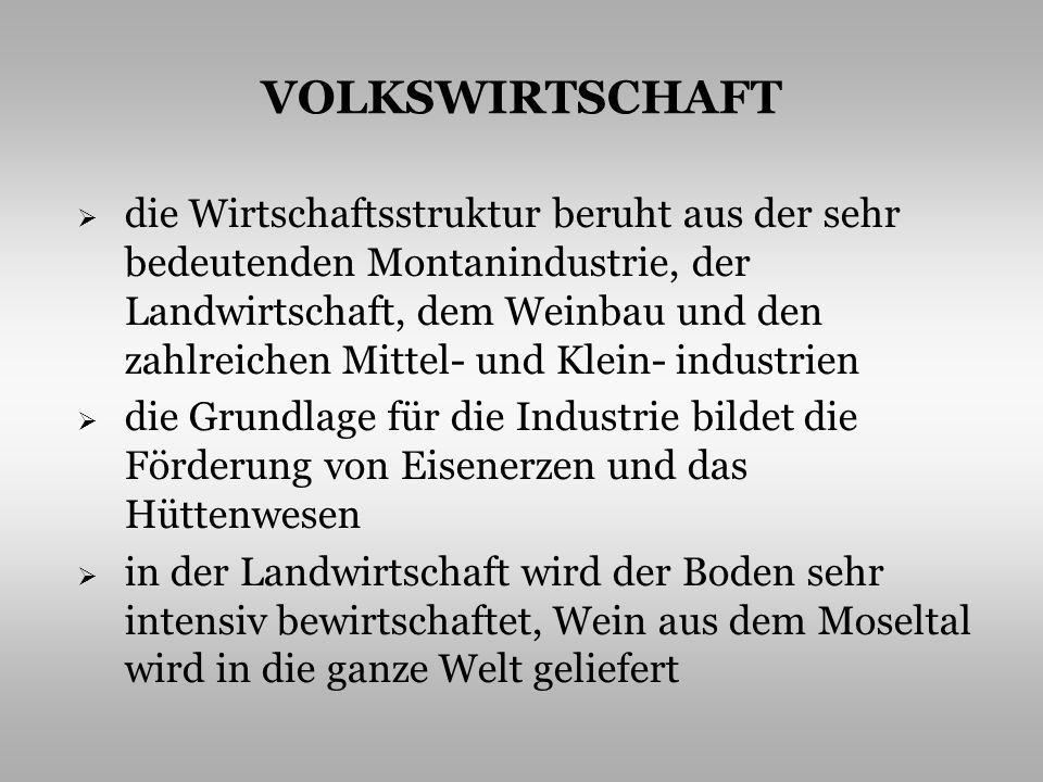VOLKSWIRTSCHAFT