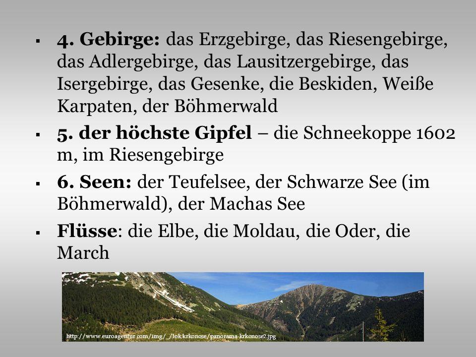 5. der höchste Gipfel – die Schneekoppe 1602 m, im Riesengebirge