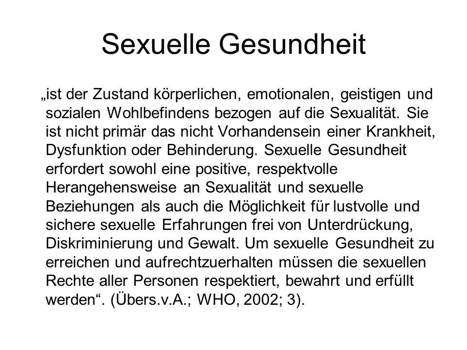 Sexuelle Gesundheit