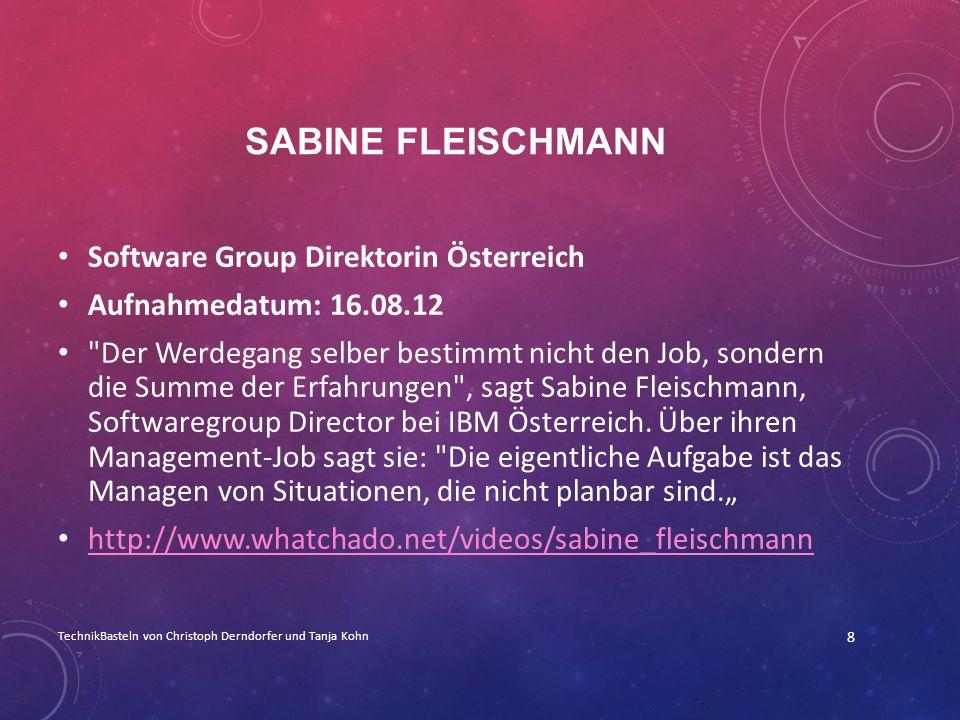Sabine Fleischmann Software Group Direktorin Österreich