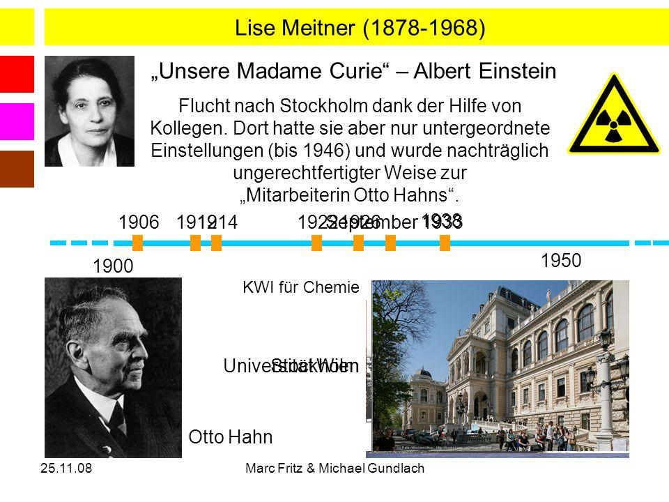 """""""Unsere Madame Curie – Albert Einstein"""