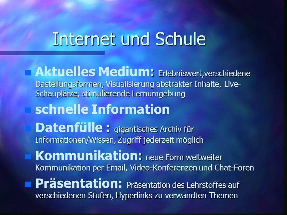 Internet und Schule
