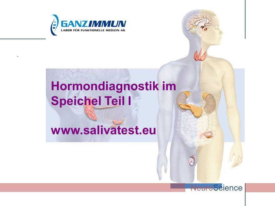Hormondiagnostik im Speichel Teil I