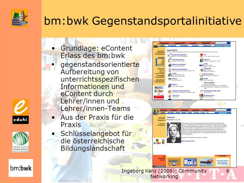 bm:bwk Gegenstandsportalinitiative