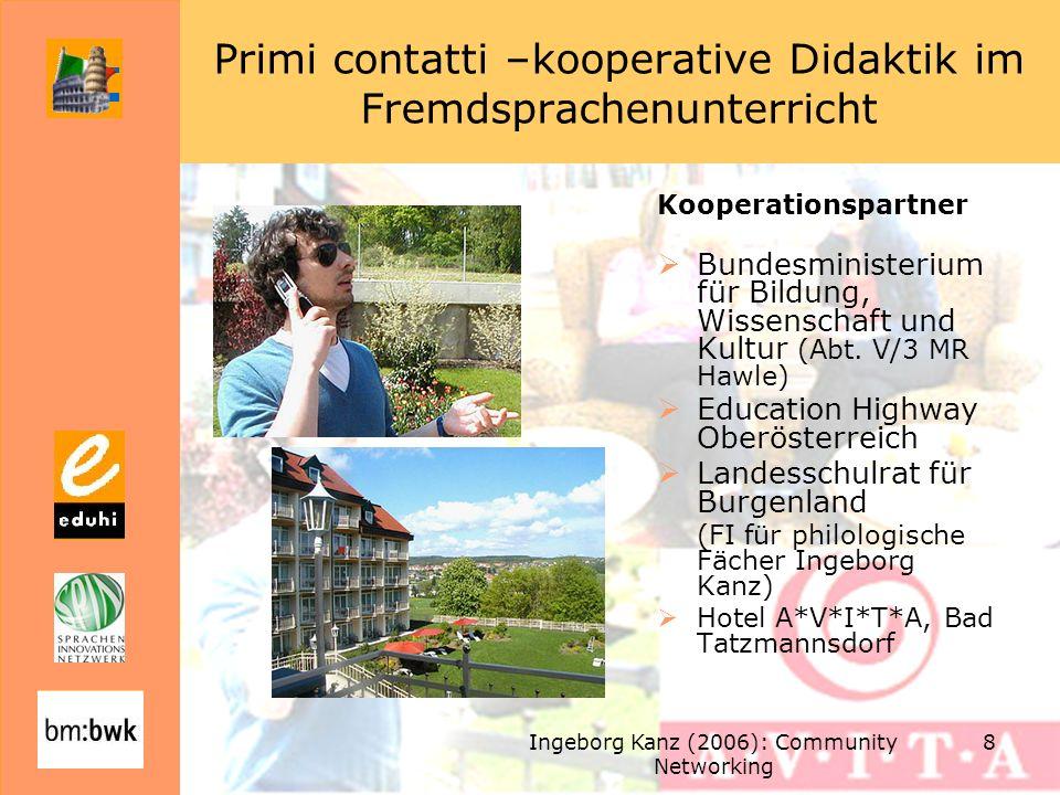 Primi contatti –kooperative Didaktik im Fremdsprachenunterricht