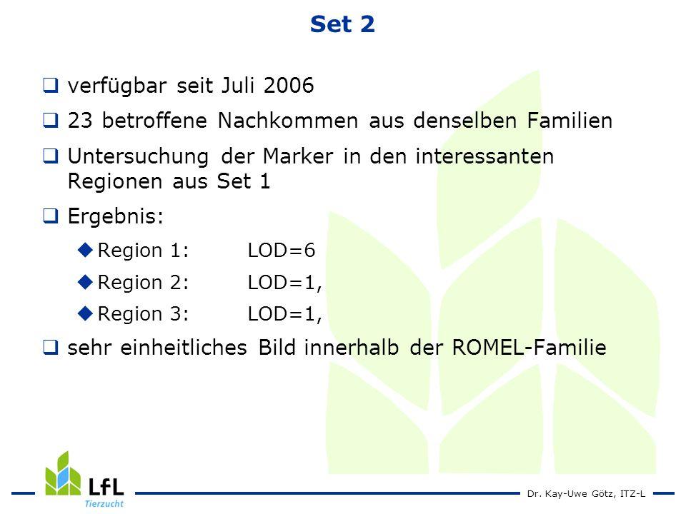 Set 2 verfügbar seit Juli 2006
