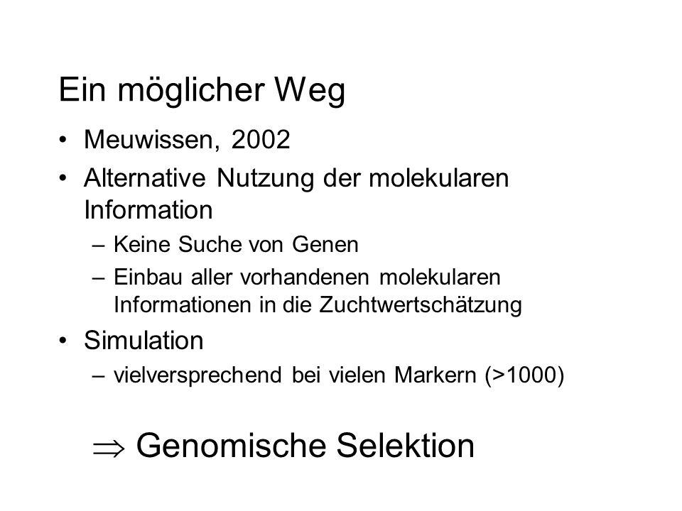  Genomische Selektion