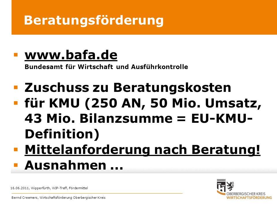 www.bafa.de Bundesamt für Wirtschaft und Ausführkontrolle