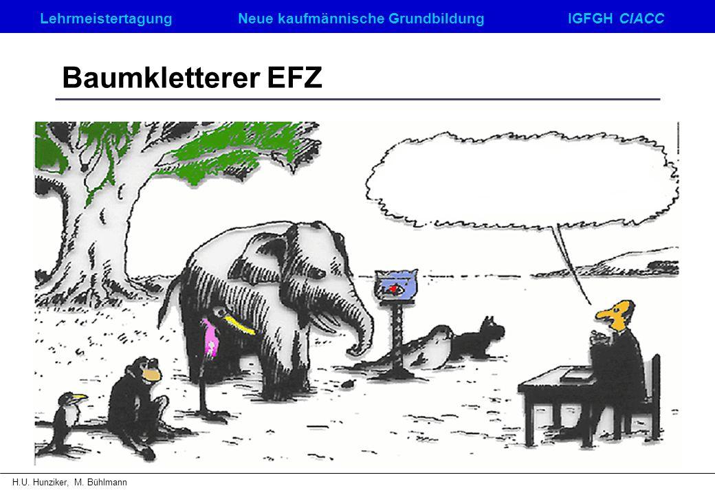 Baumkletterer EFZ